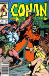 Cover for Conan the Barbarian (Marvel, 1970 series) #203 [Newsstand]