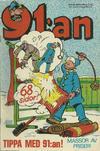 Cover for 91:an [delas] (Åhlén & Åkerlunds, 1956 series) #4/73