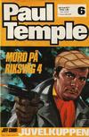 Cover for Paul Temple (Semic, 1970 series) #6/1971