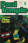 Cover for Paul Temple (Semic, 1970 series) #3/1971