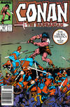 Cover for Conan the Barbarian (Marvel, 1970 series) #207 [Newsstand]