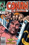 Cover Thumbnail for Conan the Barbarian (1970 series) #222 [Newsstand Edition]