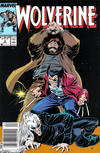 Cover for Wolverine (Marvel, 1988 series) #6 [Newsstand Edition]