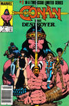 Cover Thumbnail for Conan the Destroyer (1985 series) #2 [Newsstand Edition]