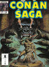 Cover for Conan Saga (Marvel, 1987 series) #18 [Direct Edition]