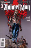 Cover for Animal Man (DC, 2011 series) #1 [3rd Printing - Grey Background]