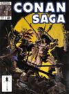 Cover for Conan Saga (Marvel, 1987 series) #25 [Direct Edition]