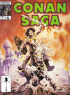 Cover for Conan Saga (Marvel, 1987 series) #26 [Direct Edition]