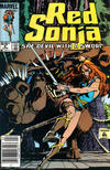 Cover Thumbnail for Red Sonja (1983 series) #8 [Newsstand]