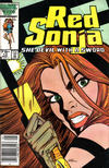 Cover Thumbnail for Red Sonja (1983 series) #13 [Newsstand Edition]