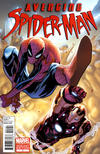 Cover for Avenging Spider-Man (Marvel, 2012 series) #1 [Variant Edition - Humberto Ramos Cover]