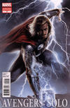 Cover for Avengers: Solo (Marvel, 2011 series) #2 [Movie Cover Variant featuring Thor]