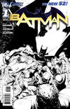 Cover for Batman (DC, 2011 series) #1 [Greg Capullo Variant Sketch Cover]