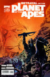 Cover for Betrayal of the Planet of the Apes (Boom! Studios, 2011 series) #1 [Cover A]