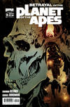 Cover for Betrayal of the Planet of the Apes (Boom! Studios, 2011 series) #2