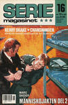 Cover for Seriemagasinet (Semic, 1970 series) #16/1987