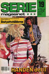 Cover for Seriemagasinet (Semic, 1970 series) #19/1987