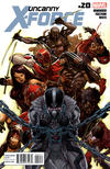 Cover for Uncanny X-Force (Marvel, 2010 series) #20
