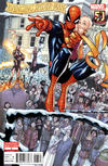 Cover for Avenging Spider-Man (Marvel, 2012 series) #3 [Variant Edition - Spider-Man: 50 Years - Humberto Ramos Cover]