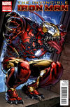 Cover Thumbnail for Invincible Iron Man (2008 series) #512 [Direct Market Venom Variant Cover by Larry Stroman]