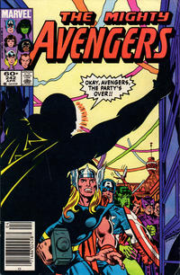 Cover Thumbnail for The Avengers (Marvel, 1963 series) #242 [Newsstand Edition]