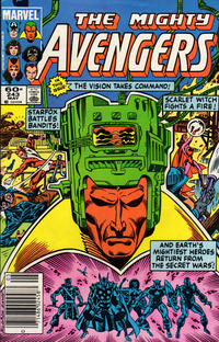 Cover Thumbnail for The Avengers (Marvel, 1963 series) #243 [Newsstand Edition]