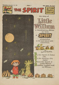 Cover Thumbnail for The Spirit (Register and Tribune Syndicate, 1940 series) #11/26/1950
