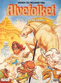 Cover Thumbnail for Alvefolket (Semic, 1985 series) #5 - Solens stemme [2. opplag]