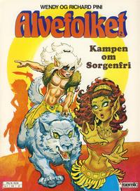 Cover Thumbnail for Alvefolket (Semic, 1985 series) #2 - Kampen om Sorgenfri [2. opplag]