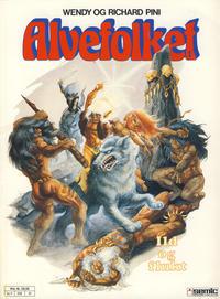 Cover Thumbnail for Alvefolket (Semic, 1985 series) #1 - Ild og flukt [2. opplag]