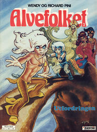 Cover Thumbnail for Alvefolket (Semic, 1985 series) #3 - Utfordringen [2. opplag]