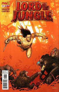Cover Thumbnail for Lord of the Jungle (Dynamite Entertainment, 2012 series) #1 [Cover C]