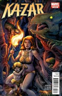Cover Thumbnail for Ka-Zar (Marvel, 2011 series) #3