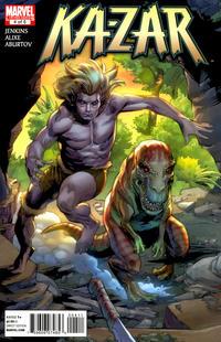 Cover Thumbnail for Ka-Zar (Marvel, 2011 series) #4