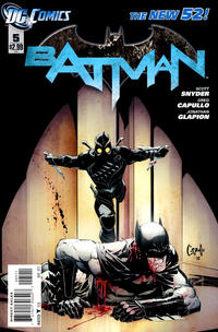 Cover Thumbnail for Batman (DC, 2011 series) #5 [Direct]