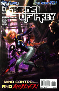 Cover Thumbnail for Birds of Prey (DC, 2011 series) #5