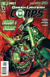 Cover Thumbnail for Green Lantern Corps (DC, 2011 series) #5