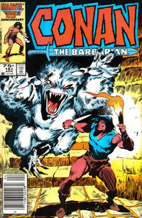 Cover Thumbnail for Conan the Barbarian (Marvel, 1970 series) #181 [Newsstand Edition]