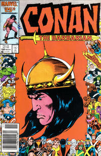 Cover Thumbnail for Conan the Barbarian (Marvel, 1970 series) #188 [Newsstand Edition]
