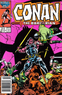 Cover Thumbnail for Conan the Barbarian (Marvel, 1970 series) #191 [Newsstand Edition]