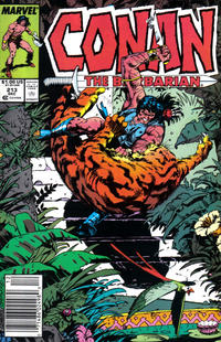Cover Thumbnail for Conan the Barbarian (Marvel, 1970 series) #213 [Newsstand]