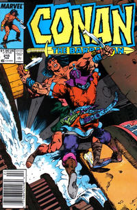 Cover Thumbnail for Conan the Barbarian (Marvel, 1970 series) #215 [Newsstand]