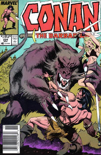 Cover Thumbnail for Conan the Barbarian (Marvel, 1970 series) #224 [Newsstand]