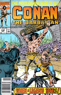 Cover Thumbnail for Conan the Barbarian (Marvel, 1970 series) #238 [Newsstand Edition]
