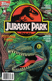 Cover Thumbnail for Jurassic Park (Topps, 1993 series) #2 [Newsstand]