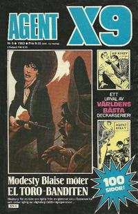 Cover Thumbnail for Agent X9 (Semic, 1971 series) #5/1983