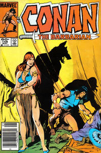 Cover for Conan the Barbarian (Marvel, 1970 series) #158 [Newsstand Edition]