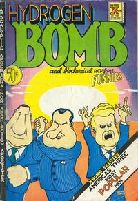Cover Thumbnail for Hydrogen Bomb Funnies (Rip Off Press, 1970 series) #1 [0.50 USD 2nd print]