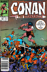 Cover Thumbnail for Conan the Barbarian (Marvel, 1970 series) #207 [Newsstand]