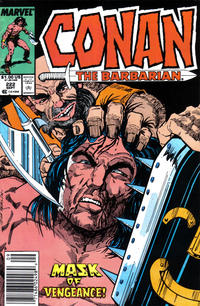 Cover Thumbnail for Conan the Barbarian (Marvel, 1970 series) #222 [Newsstand]